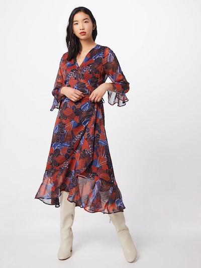Y.A.S Kleid 'DAPHNE' in weinrot, Modelansicht
