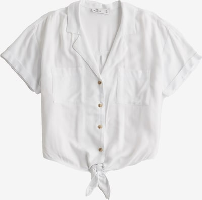 HOLLISTER Pluus 'DTC SS TIE FRONT SHIRT 3CC' valge, Tootevaade