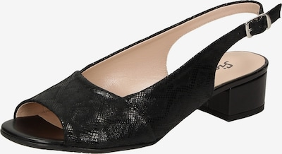 SIOUX - Sandale 'Zippora' in schwarz