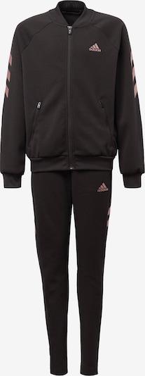 ADIDAS PERFORMANCE Trainingsanzug in altrosa / schwarz, Produktansicht