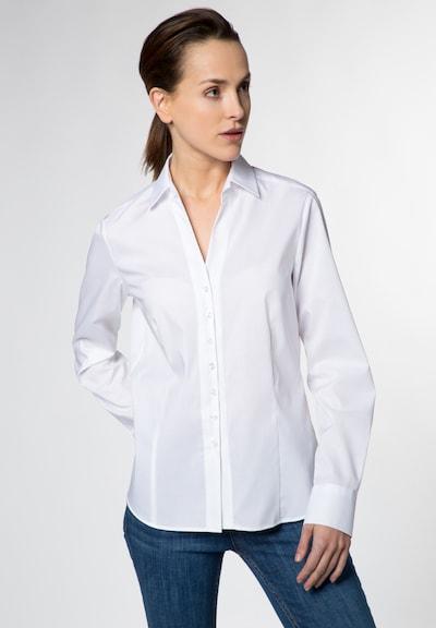 ETERNA Langarm Bluse 'MODERN CLASSIC' in weiß: Frontalansicht