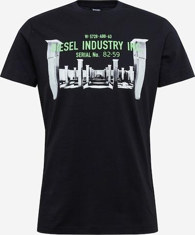 DIESEL Shirt 'T-Diego' in schwarz, Produktansicht