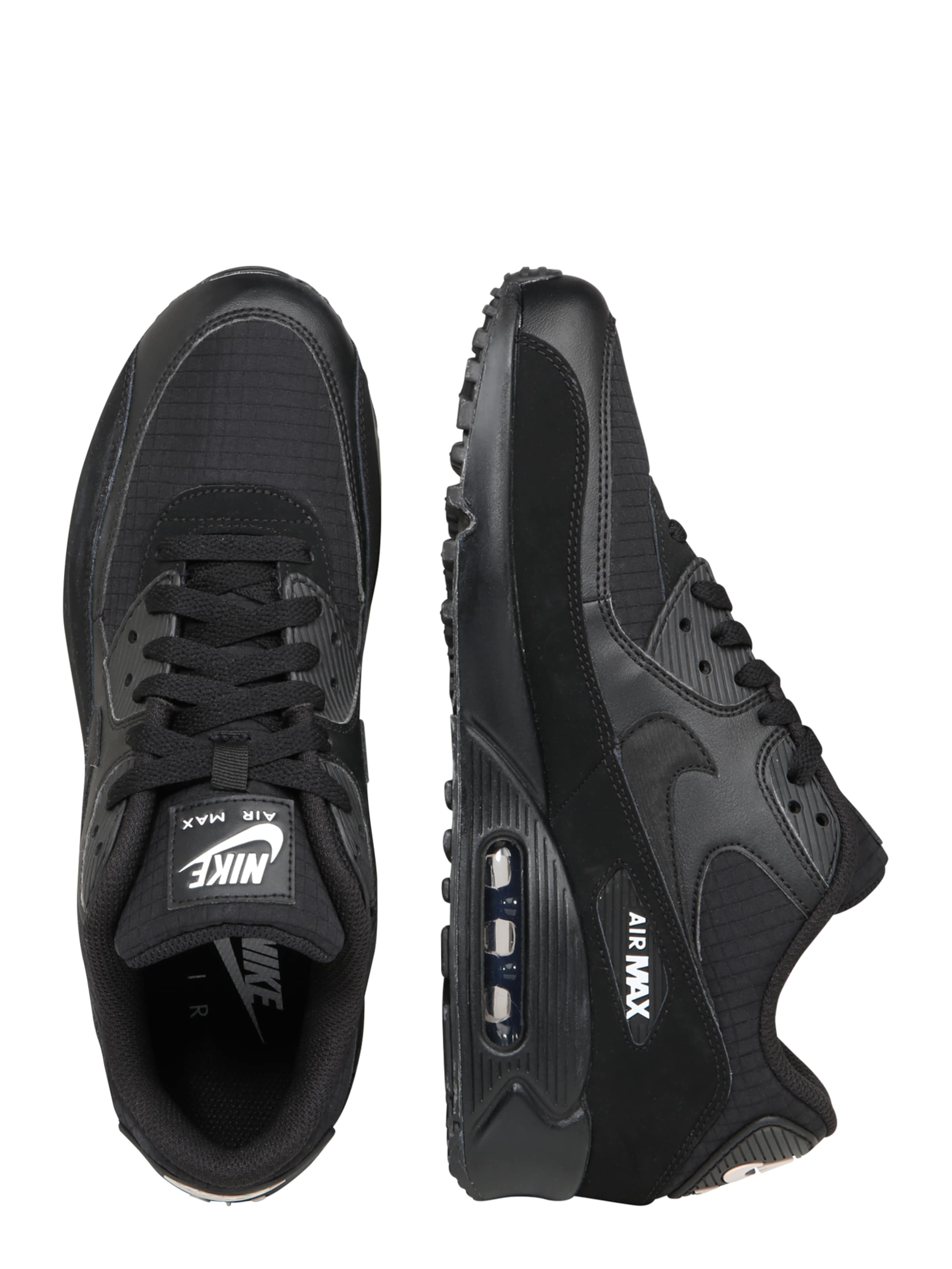 Sportswear 'air Sneaker 90 Nike In Max Schwarz Essential' ARL45j