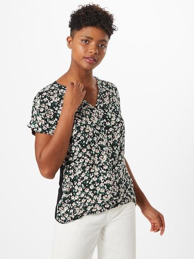 ZABAIONE T-shirt 'Macy' en mélange de couleurs / noir: Vue de face