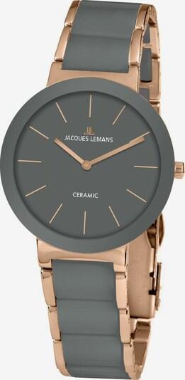 Jacques Lemans Uhr  '42-7M' in rosegold / schwarz, Produktansicht