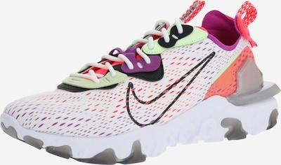 bézs / fekete / fehér Nike Sportswear Rövid szárú edzőcipők 'React Vision', Termék nézet