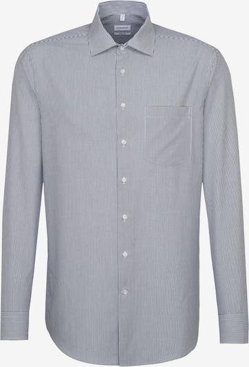 SEIDENSTICKER Hemd in schwarz / weiß, Produktansicht