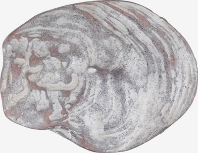 RETTUNGSRING by showroom 019° Wechselschließe im Austernmuschel-Design in grau, Produktansicht