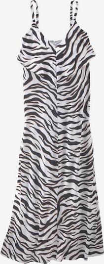 Guido Maria Kretschmer Sommerkleid in hellbraun / schwarz / weiß, Produktansicht