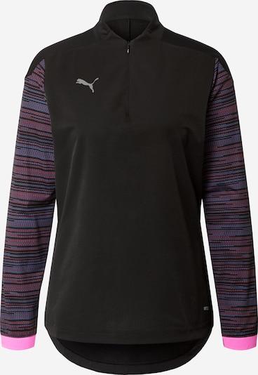 Sportiniai marškinėliai iš PUMA , spalva - mėlyna / rožinė / juoda, Prekių apžvalga