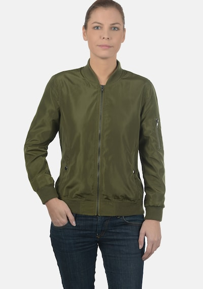 DESIRES Bomberjacke 'Temari' in grün / khaki / oliv / dunkelgrün, Produktansicht