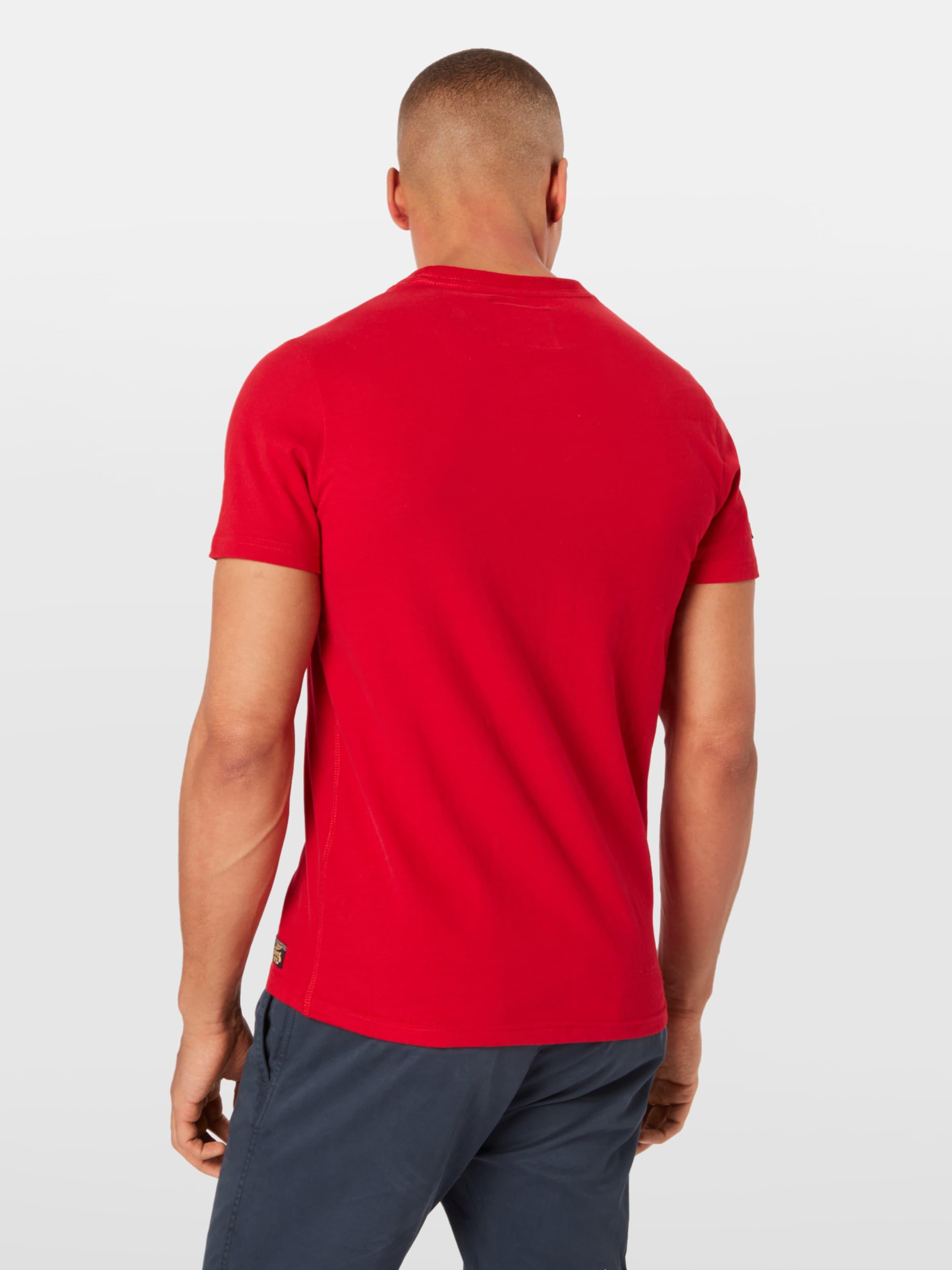 Superdry Tee' En T shirt 'famous Flyers BleuRouge dshQrtC