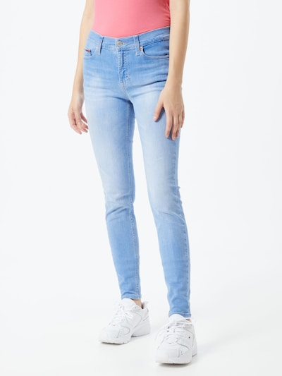 Tommy Jeans Jeans 'NORA' in blue denim, Modelansicht