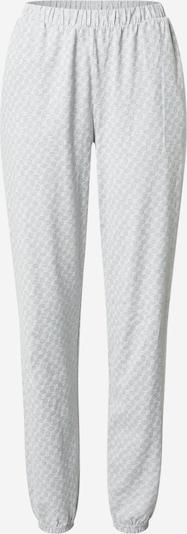 JOOP! Bodywear Pantalon de pyjama en gris chiné, Vue avec produit