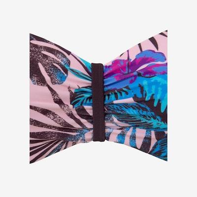 VENICE BEACH Bandeau-Bikini-Top 'Marly' in blau / altrosa, Produktansicht
