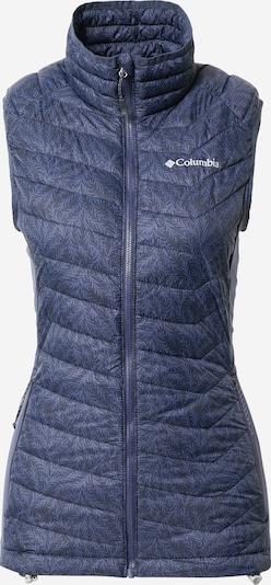 COLUMBIA Sportski prsluk u noćno plava / golublje plava / bijela, Pregled proizvoda