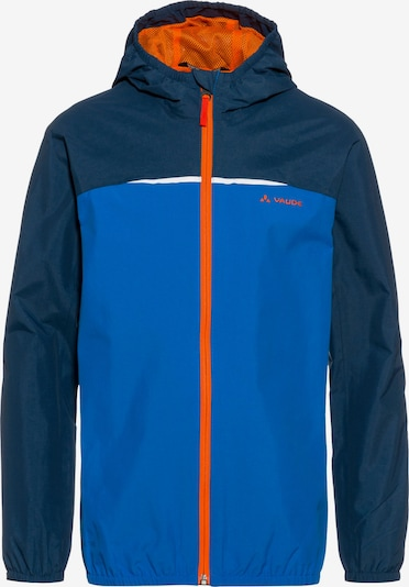 VAUDE Jacke in blau / enzian / orange, Produktansicht