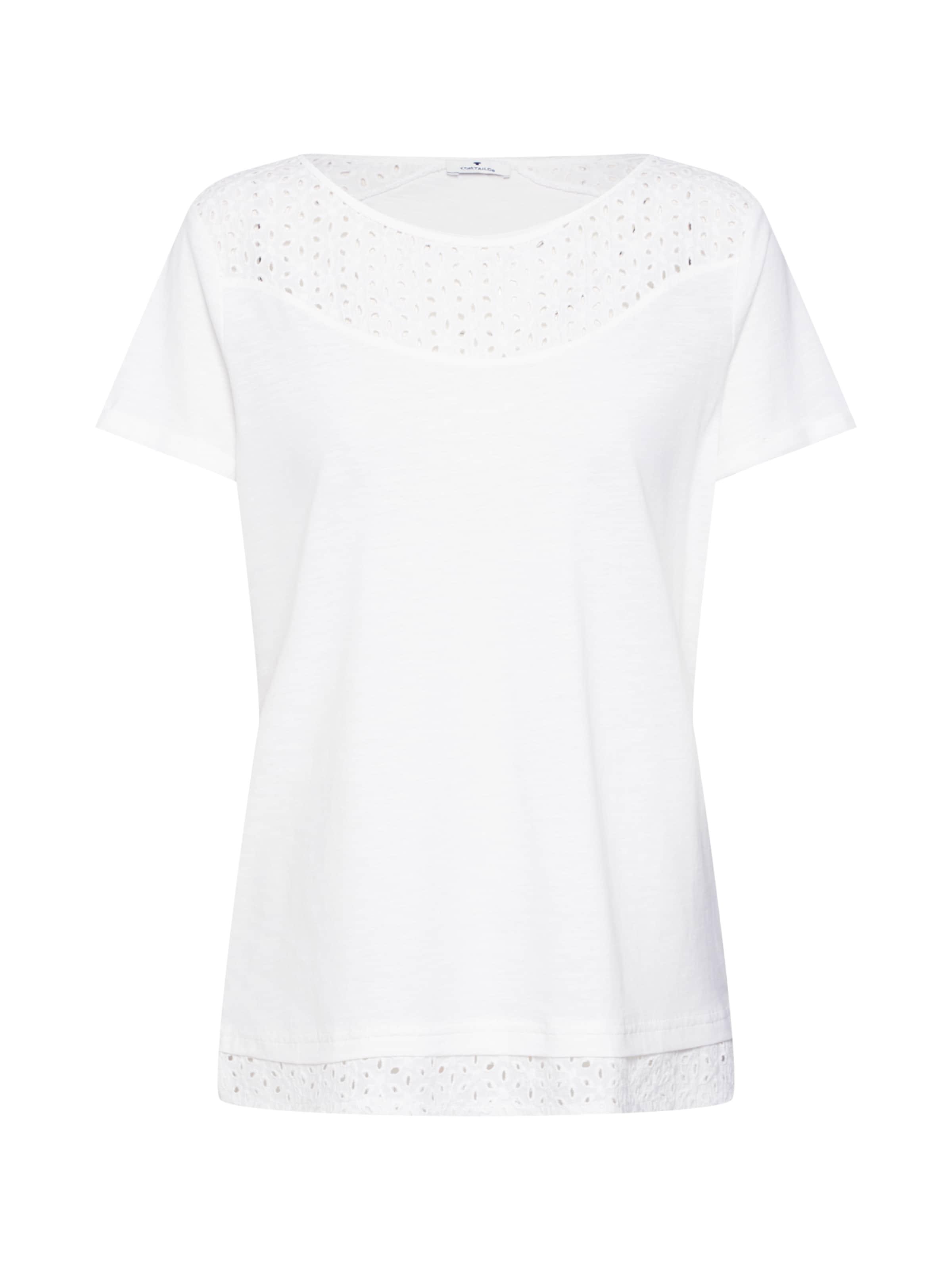 shirt En T Tailor Blanc Tom QCsrtxhd