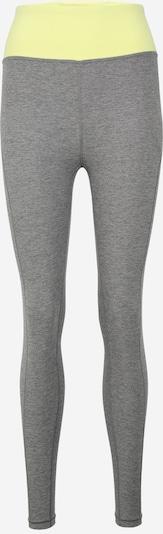 Pantaloni sport PUMA pe galben neon / gri, Vizualizare produs