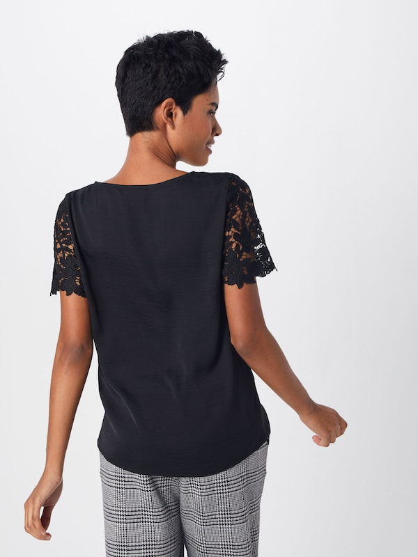 Noir shirt 'vimelli' Vila T En W2DHI9E