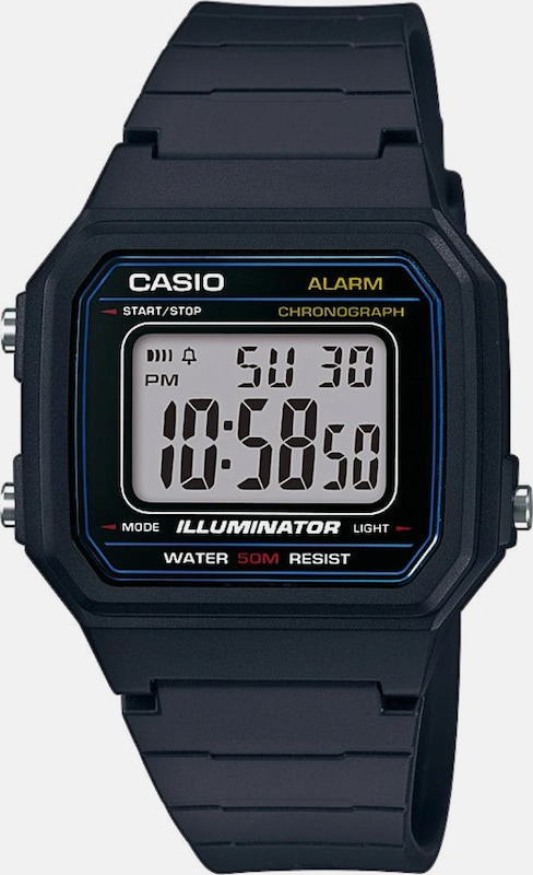 Casio Collection Chronograph W-217h-1avef
