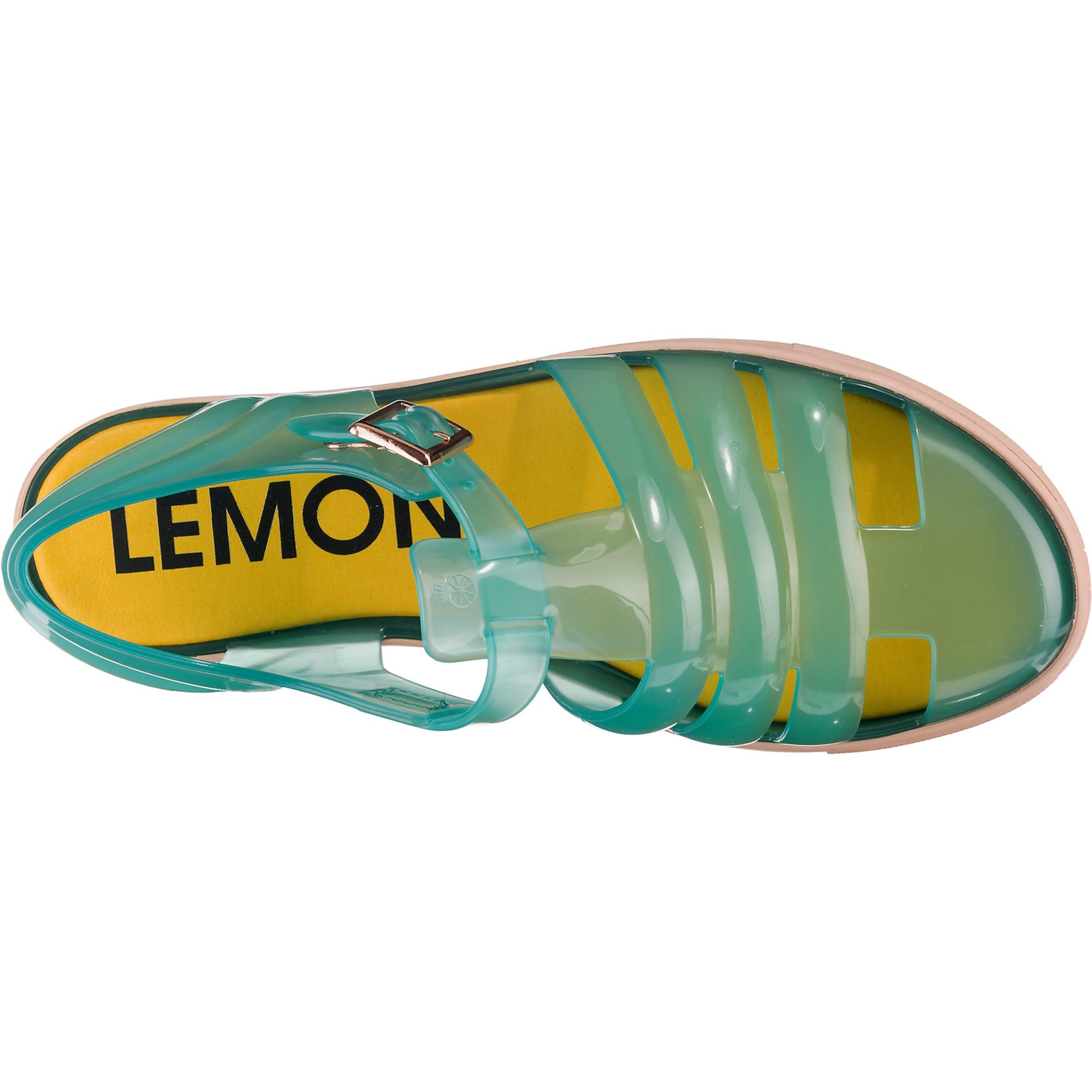 In JadeAltrosa Jelly 'crystal' Lemon Sandalen trCdxQsh