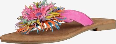 LAZAMANI Zehentrenner in pink, Produktansicht