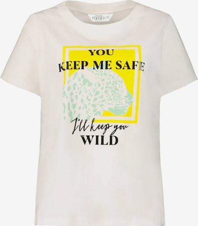 Ulla Popken T-shirt en blanc, Vue avec produit