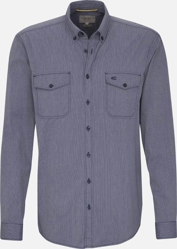 CAMEL ACTIVE Hemd in taubenblau  Mode neue Kleidung