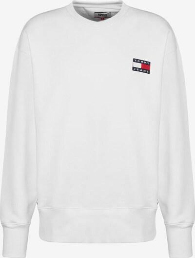 Tommy Jeans Sweater ' Badge Crew ' in weiß, Produktansicht