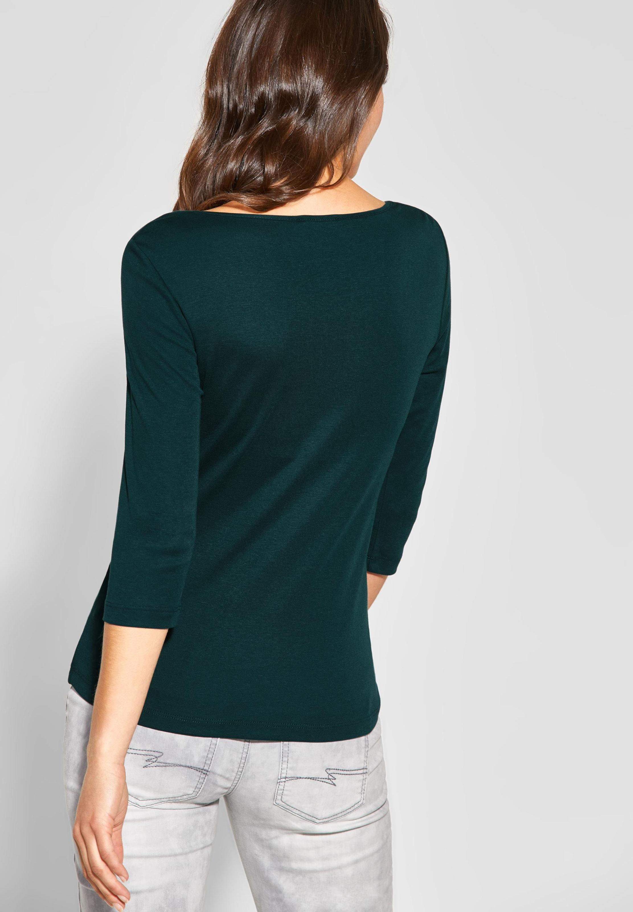 In Street One 'pania' Smaragd Shirt NOPyvm08nw
