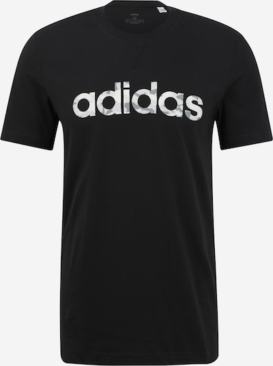 ADIDAS PERFORMANCE Trainingsshirt in schwarz / weiß, Produktansicht