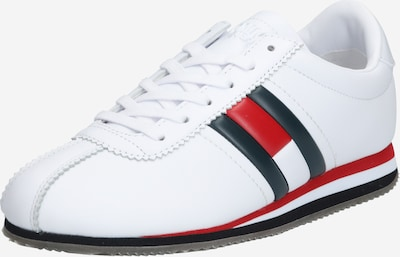Tommy Jeans Sneaker 'TRIXIE 1A1' in dunkelblau / rot / weiß, Produktansicht
