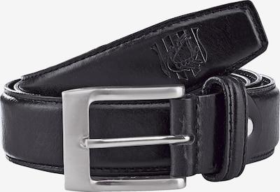 Jan Vanderstorm Gürtel 'Deodor' in schwarz, Produktansicht
