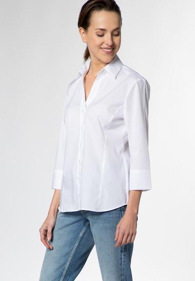 ETERNA Dreiviertelarm Bluse 'MODERN CLASSIC' in weiß, Modelansicht