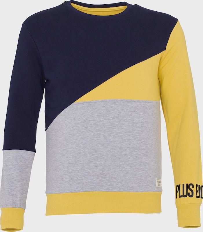 PLUS EIGHTEEN Sweatshirt in gelb   mischfarben  Bequem und günstig