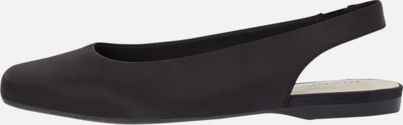 Bianco | Quadratische Quadratische Quadratische Leder Slingpumps 146c66