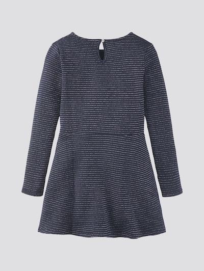 TOM TAILOR Kleid in enzian / silber, Produktansicht