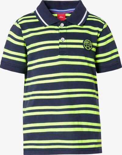s.Oliver Shirt in navy / grün, Produktansicht