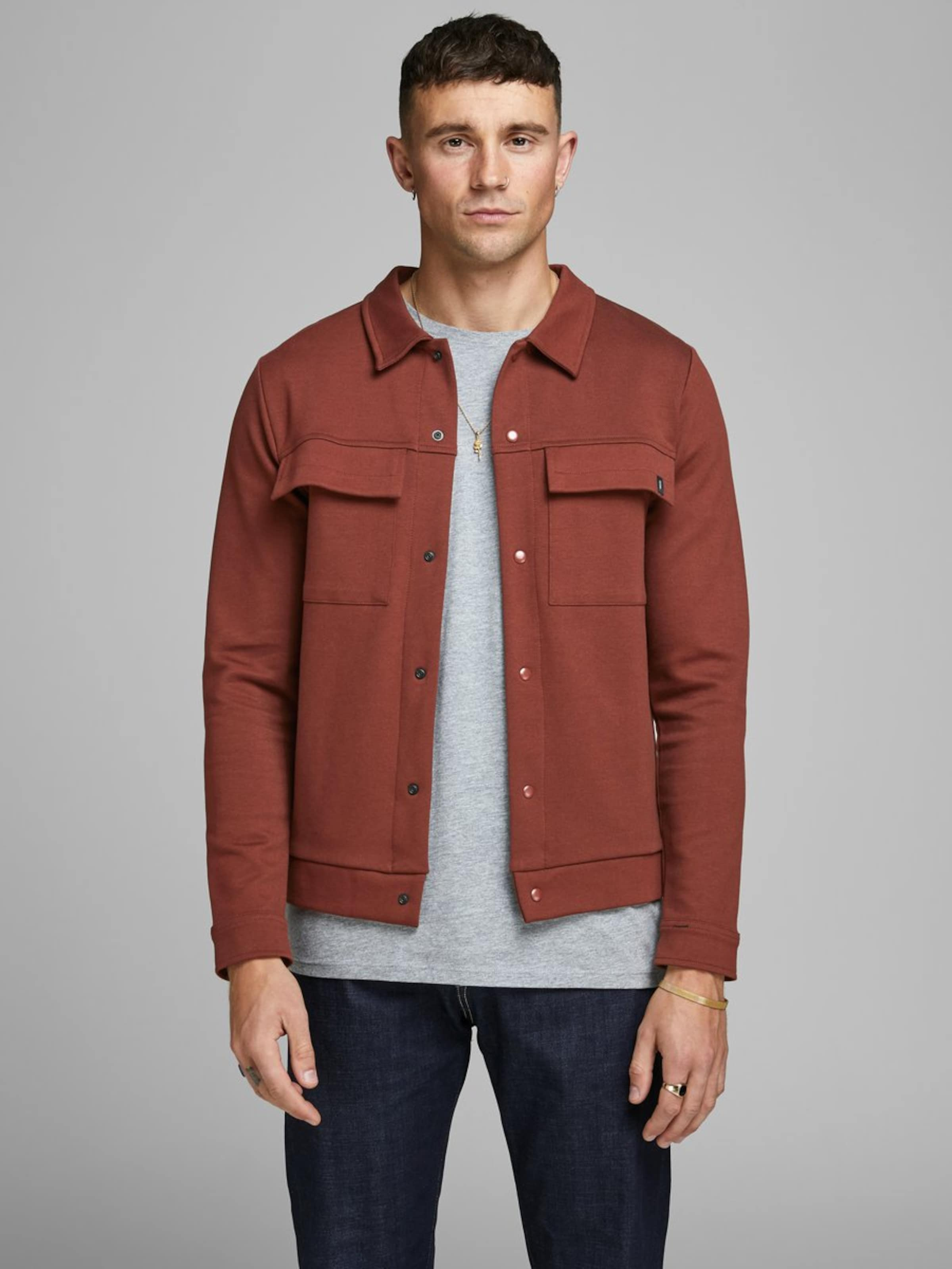 Rostbraun Jackamp; Sweat Jones Jacke In OXikZuTP