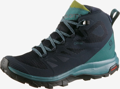 SALOMON Boots 'Outline' in marine blue / Pastel blue, Item view