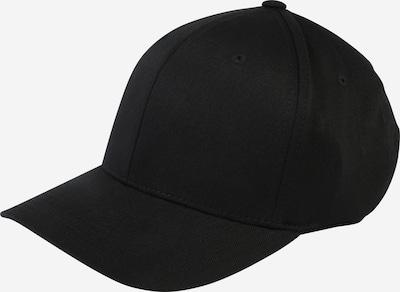 Flexfit Cap 'Wooly Combed' in schwarz, Produktansicht