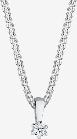 Diamore Chaîne 'Basic Stein' en argent / blanc, Vue avec produit
