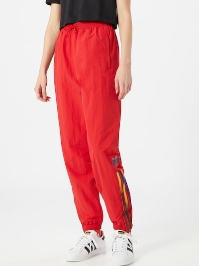 ADIDAS ORIGINALS Jogginhose in rot, Modelansicht