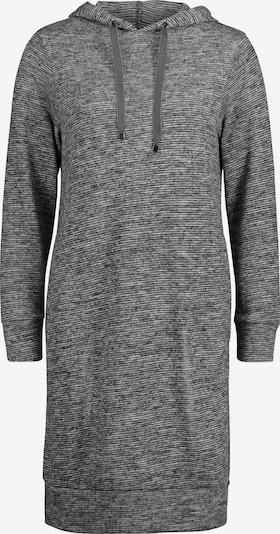 Betty & Co Sweatkleid mit Kapuze in grau, Produktansicht