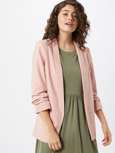 PIECES Blazer in rosa: Frontalansicht