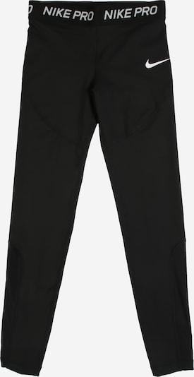 NIKE Sportovní kalhoty 'G NP TGHT' - černá / bílá, Produkt