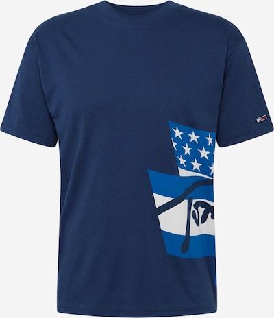 Tommy Jeans T-Shirt 'Heritage Flags' en bleu marine / blanc, Vue avec produit