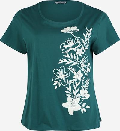 Z-One Shirt 'Renata Z1' in de kleur Groen / Wit, Productweergave