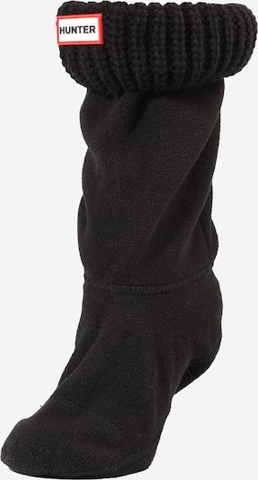 HUNTER Čarape 'HALF CARDIGAN' u crna, Pregled proizvoda